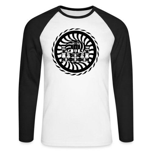 chakatribe - Männer Baseballshirt langarm