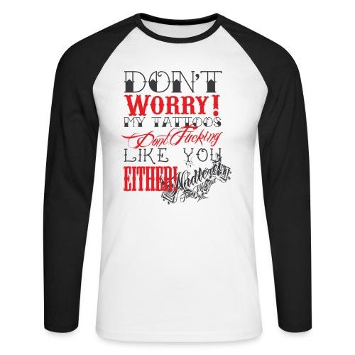 dont - Männer Baseballshirt langarm