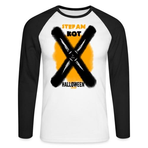 HALLOWEEN Edition - Koszulka męska bejsbolowa z długim rękawem