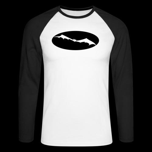 Fledermaus - Männer Baseballshirt langarm
