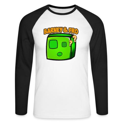 Slime happy Frovirret png - Langermet baseball-skjorte for menn