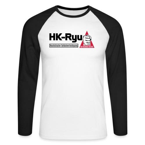 HK-RYU Basic - Männer Baseballshirt langarm