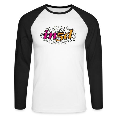 In5d-2 - Langærmet herre-baseballshirt