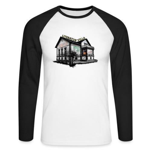 Literaturvilla Herrenhof frei jpg - Männer Baseballshirt langarm