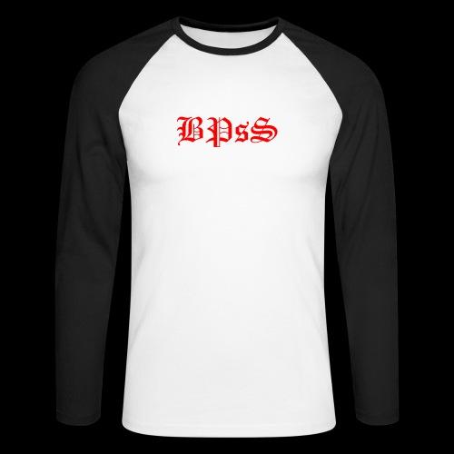 bpss red PNG - Männer Baseballshirt langarm