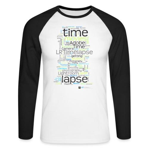 LRTImelapse Shirt Tags 4 png - Männer Baseballshirt langarm