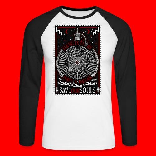 SaveOurSouls - Men's Long Sleeve Baseball T-Shirt