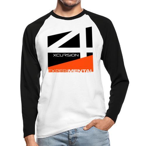 X4 emblem - Men's Long Sleeve Baseball T-Shirt
