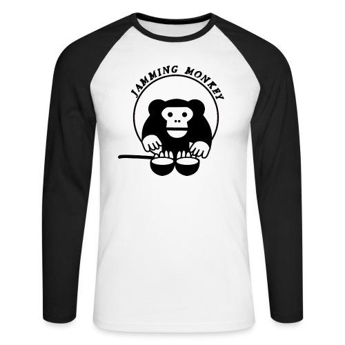 Jamming Monkey - T-shirt baseball manches longues Homme