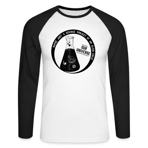 Our Universe - Männer Baseballshirt langarm