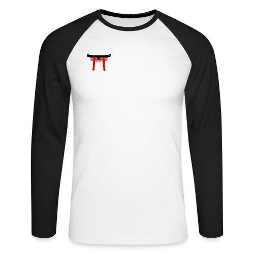 PORTAIL JAPONNAIS - T-shirt baseball manches longues Homme