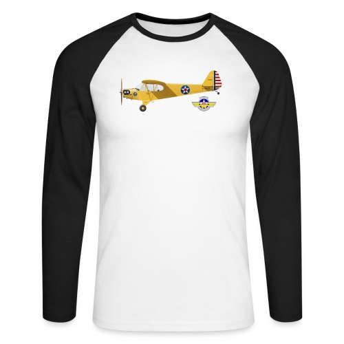 Piper Cub Spirit of Lewis - T-shirt baseball manches longues Homme