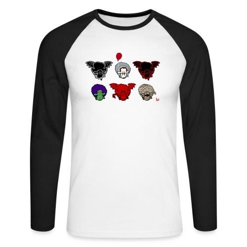 Sheepers Creepers - Langermet baseball-skjorte for menn