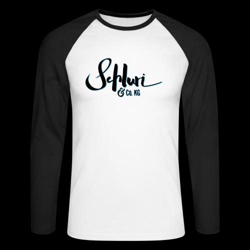 Schluri - Männer Baseballshirt langarm