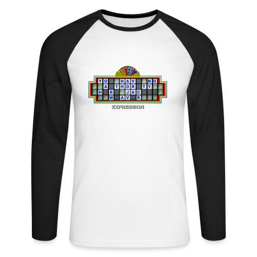 Jackie Weaver Wheel of Fortune - Men's Long Sleeve Baseball T-Shirt