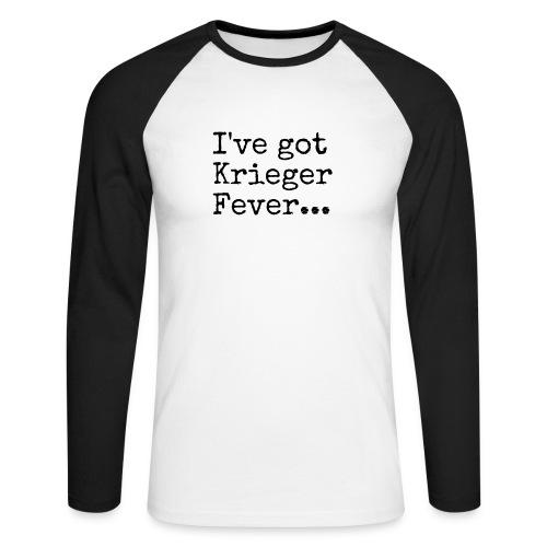 Krieger Fever Black - Men's Long Sleeve Baseball T-Shirt