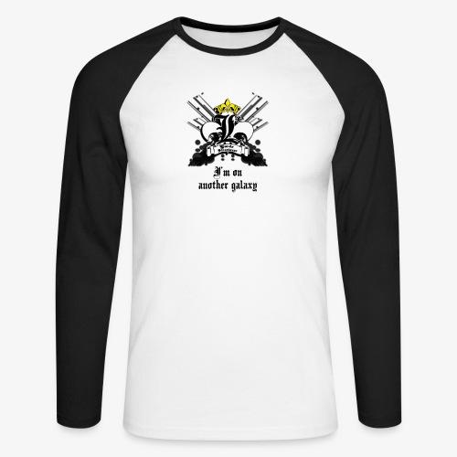T-shirt Blanc Premium Homme G - T-shirt baseball manches longues Homme