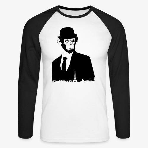 COLLECTION *BLACK MONKEY PARIS* - T-shirt baseball manches longues Homme