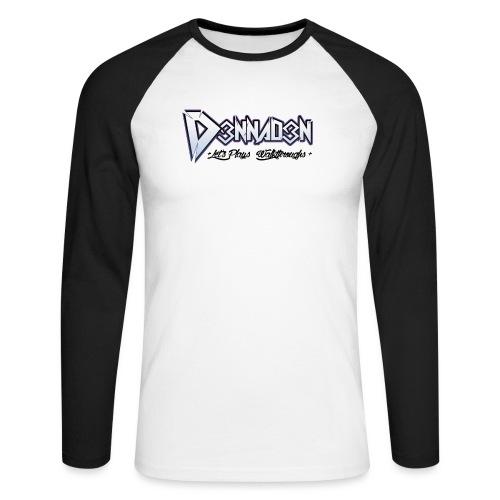 Baseball T-Shirt D3NNAD3N 2015 - Mannen baseballshirt lange mouw