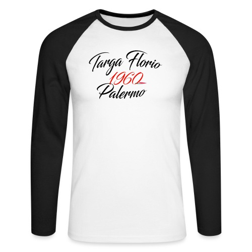 Anciennes courses Italiennes - T-shirt baseball manches longues Homme