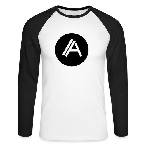 Logo Andyboy - Männer Baseballshirt langarm