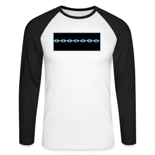 FREERUN BLEUTÉ - T-shirt baseball manches longues Homme