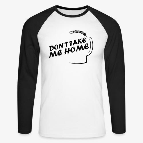 dont_take_me_home - Mannen baseballshirt lange mouw