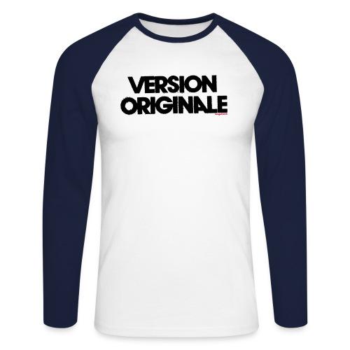 Version Original - T-shirt baseball manches longues Homme