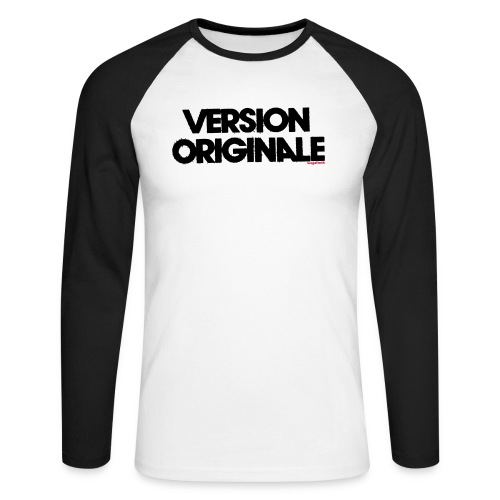 Version Original - T-shirt baseball manches longues Homme
