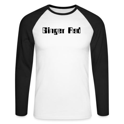 gingerred - Männer Baseballshirt langarm