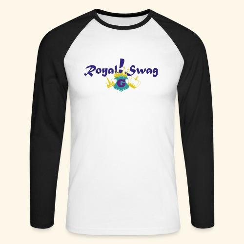 Royal!Swag - Männer Baseballshirt langarm
