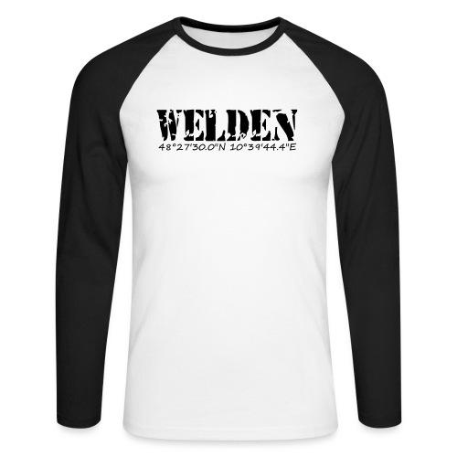 WELDEN_NE - Männer Baseballshirt langarm