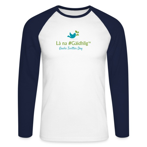 Là na #Gàidhlig - Men's Long Sleeve Baseball T-Shirt