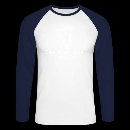 Logo The Harp Bar Paris - T-shirt baseball manches longues Homme