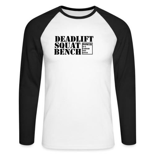 The Big 3 - Men's Long Sleeve Baseball T-Shirt