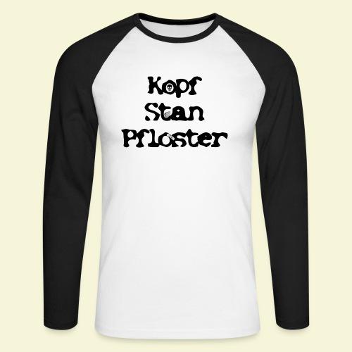 KSP Schrift - Männer Baseballshirt langarm
