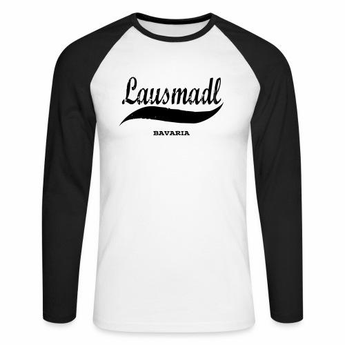LAUSMADL BAVARIA - Männer Baseballshirt langarm