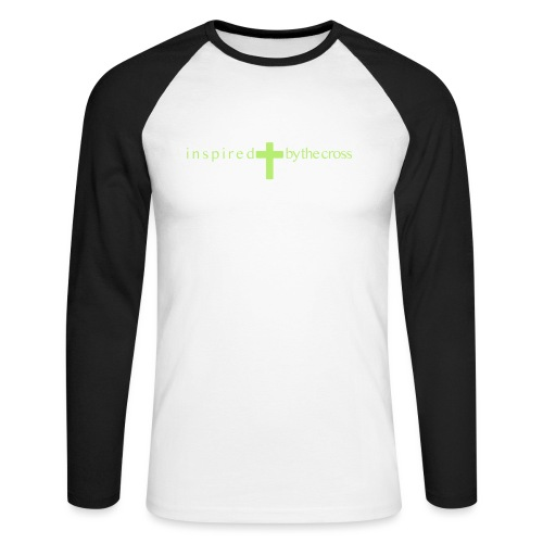Inspired by the cross - T-shirt baseball manches longues Homme