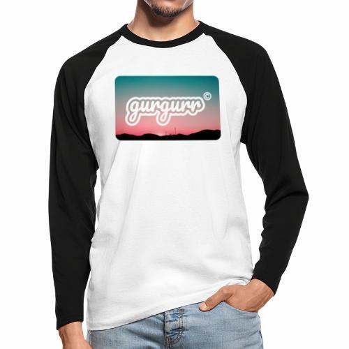Kitschy Pigeon - Männer Baseballshirt langarm