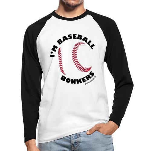 baseball-bonkers - Männer Baseballshirt langarm