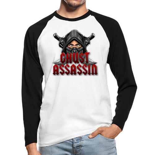 Ghust Assassin Guild - Långärmad basebolltröja herr
