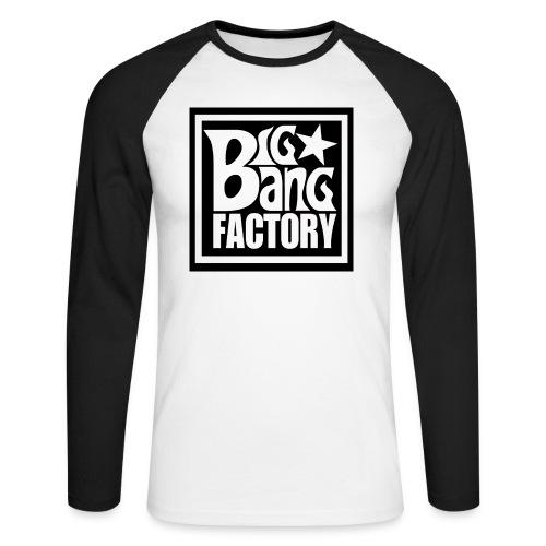 LOGOSTARBLACKBIGPNG png - T-shirt baseball manches longues Homme