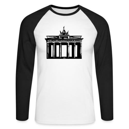 Brandenburger Tor - Männer Baseballshirt langarm