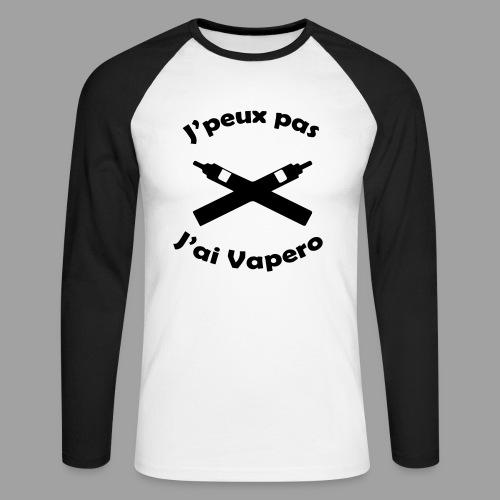 J'peux pas j'ai Vapero - T-shirt baseball manches longues Homme