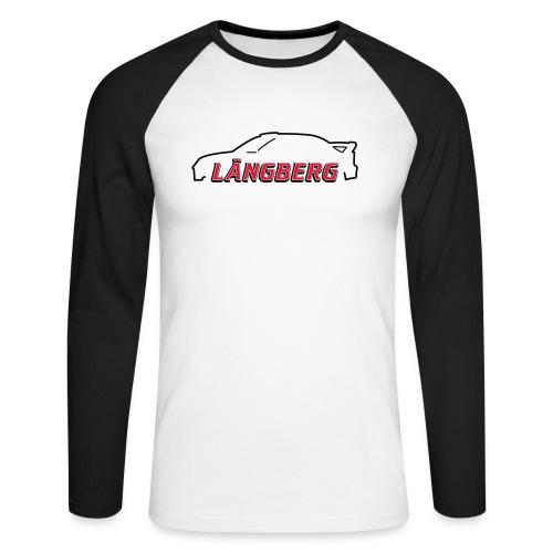 logotype Laengberg - Långärmad basebolltröja herr
