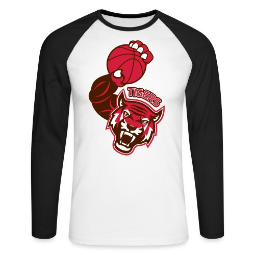 Tigers Basket - T-shirt baseball manches longues Homme