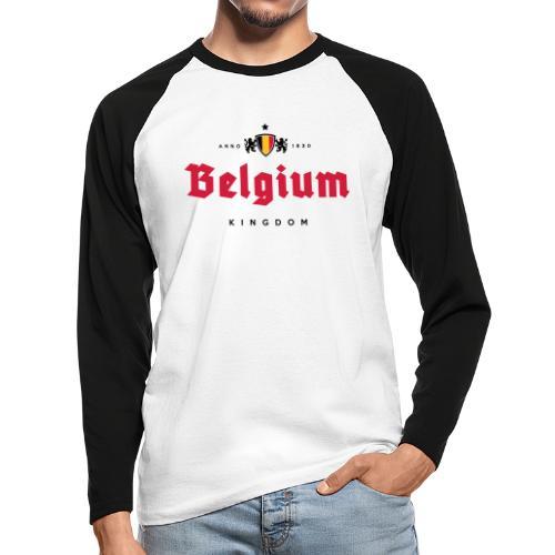 Bierre Belgique - Belgium - Belgie - T-shirt baseball manches longues Homme