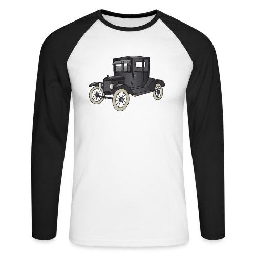 Modell T Oldtimer c - Männer Baseballshirt langarm
