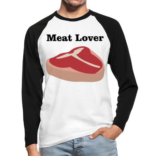 Fleischliebhaber - Männer Baseballshirt langarm