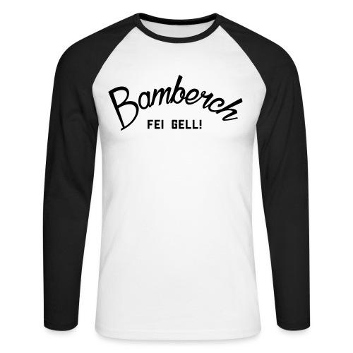 Bamberch Fei Gell - Männer Baseballshirt langarm